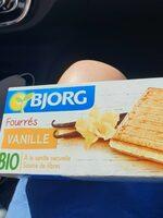 Fourres vanille bio - Produit - fr