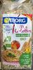 Mes Galettes aux Légumes Bio - Produit