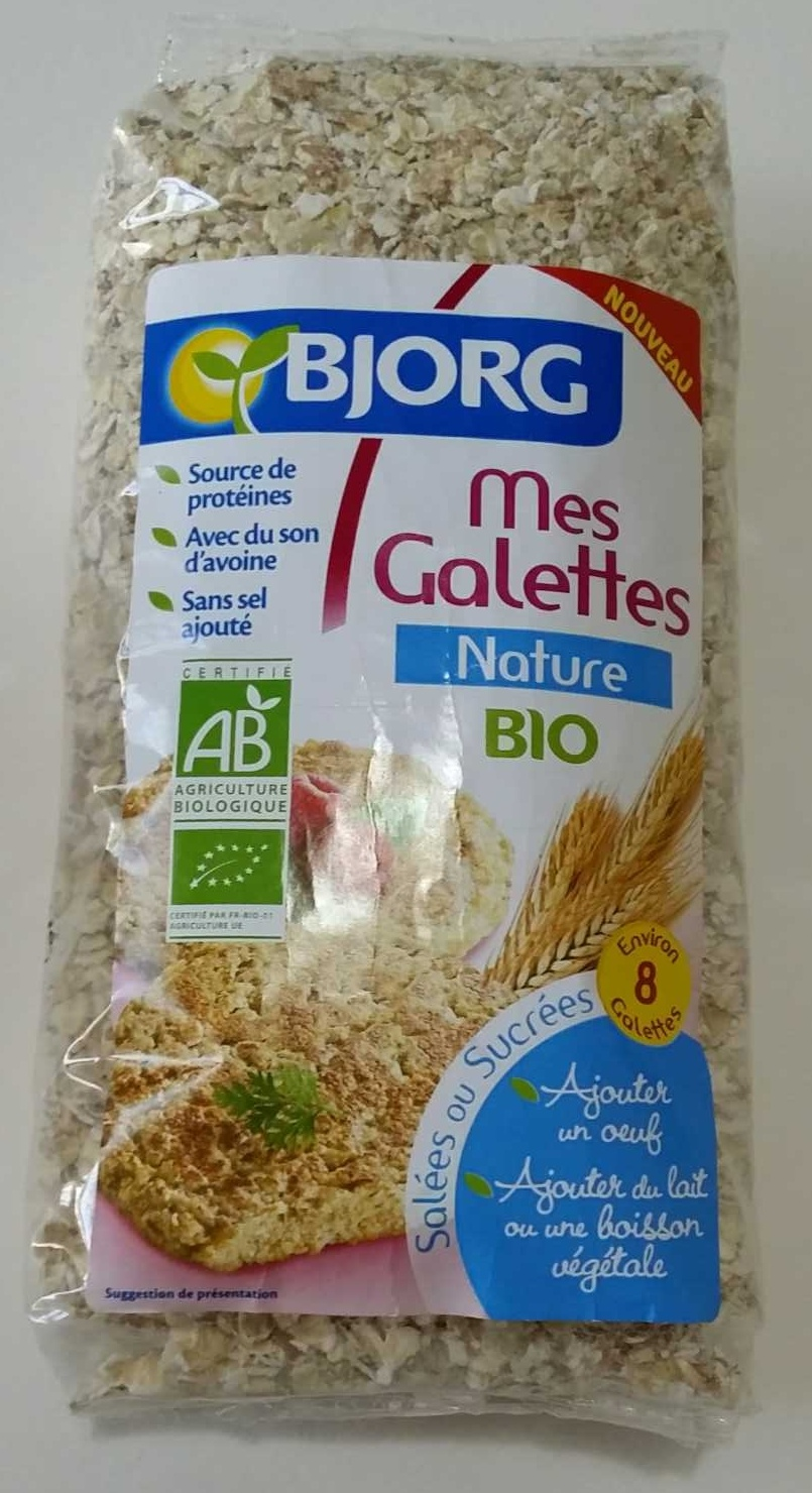 Mes Galettes Nature Bio - Prodotto - fr
