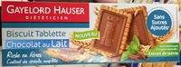 Biscuit tablette chocolat au lait - Product