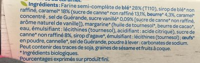 Gaufres caramel - Ingredients