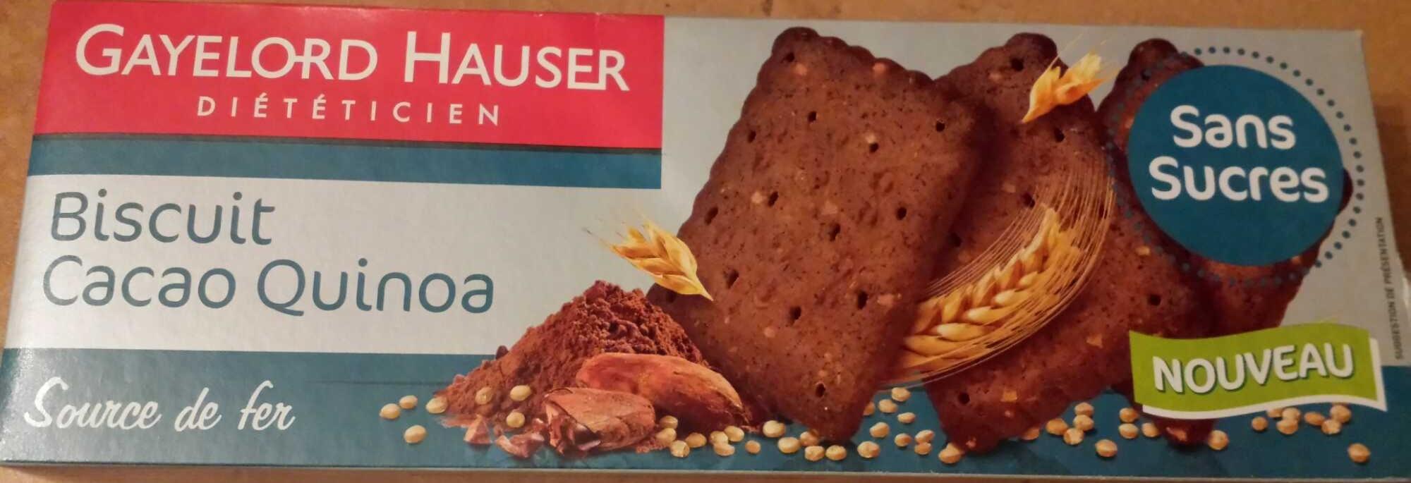 Biscuit Cacao Quinoa Sans Sucre - Produit - fr