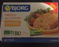 Les Délicieux Galettes Céréales Emmental bio - Product