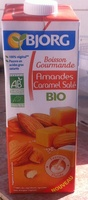 Boisson Gourmande Amandes Caramel Salé - Produit - fr