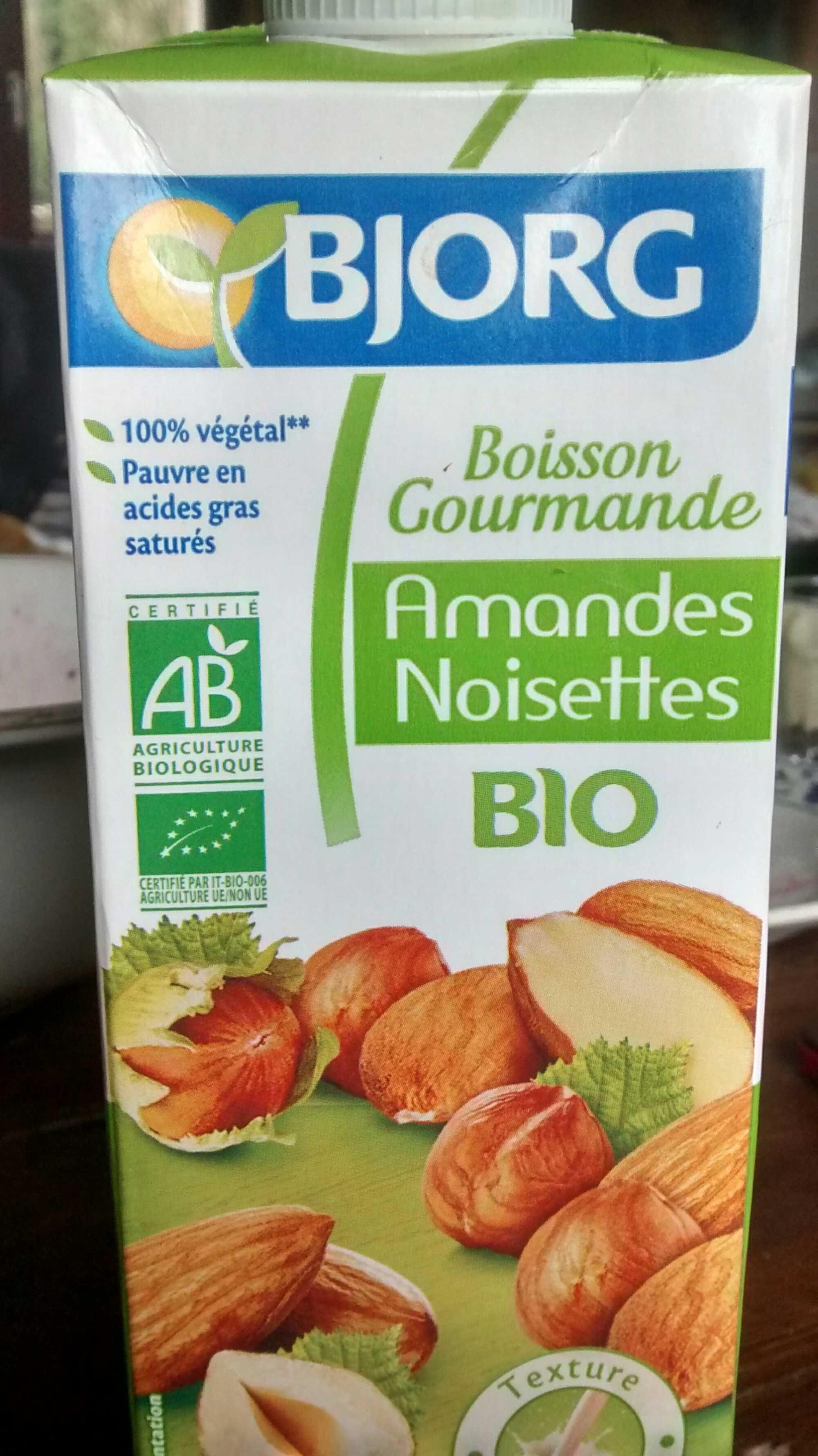 boisson gourmande amandes noisettes bjorg 1 l