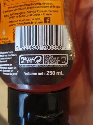 Sauce pour Rouleaux de Printemps et Nems - Instruction de recyclage et/ou information d'emballage