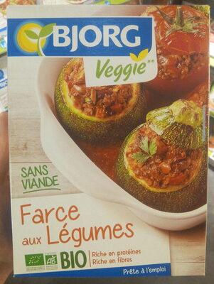 Farce aux légumes sans viande - Product - fr