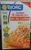 Céréales et légumes secs, blé riz et lentilles - Produit