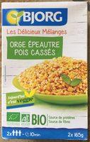 Céréales & Légumes secs - Orge, Épeautre, Pois cassés - Prodotto - fr