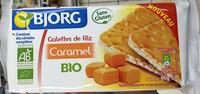 Galettes de Riz Caramel bio - Product