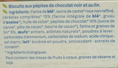Lin Chocolat - Ingredientes - fr
