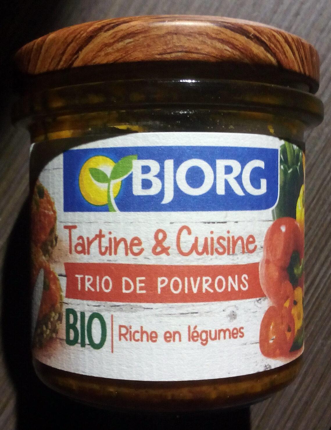 Tartine & Cuisine Trio de poivrons - Produit - fr