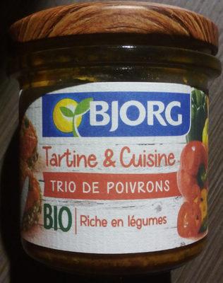 Tartine & Cuisine Trio de poivrons - Produit