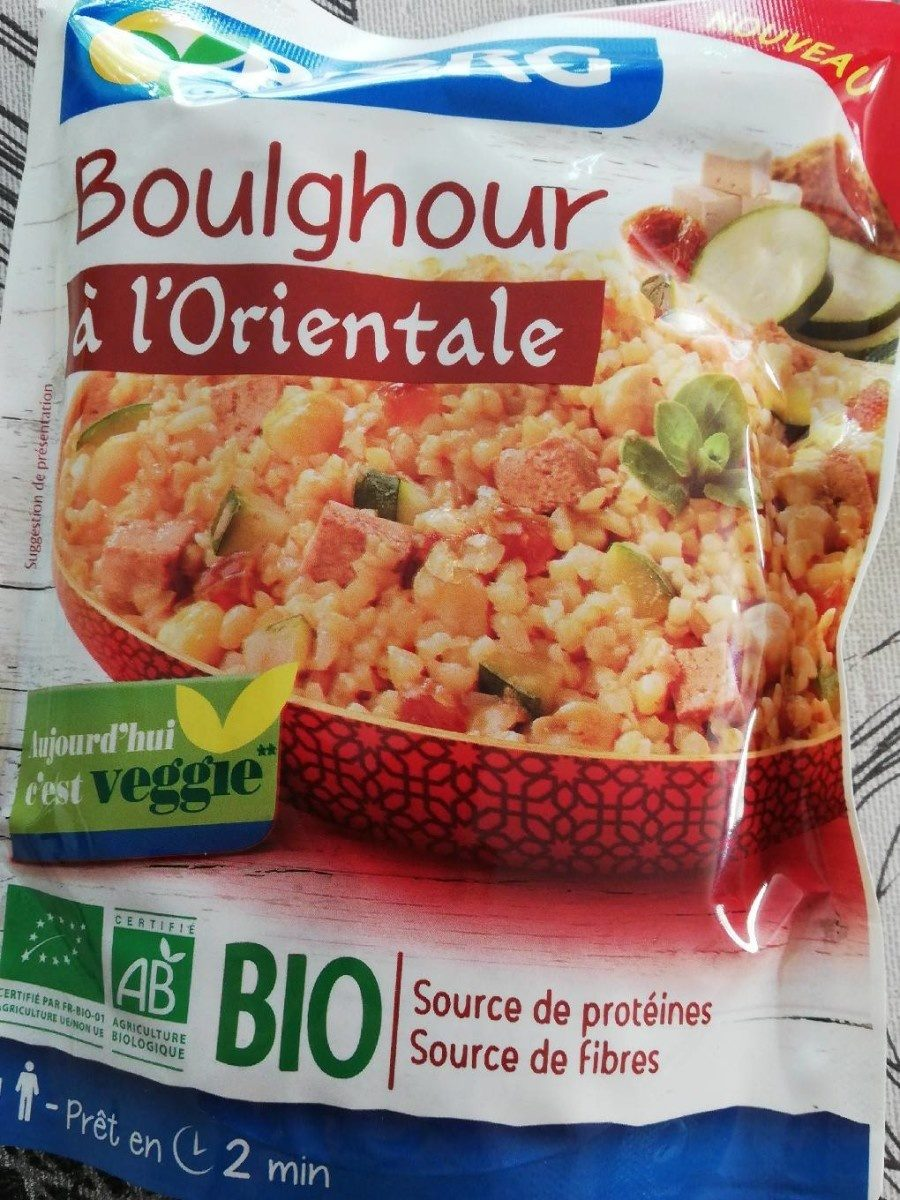 Boulghour à l'Orientale - Product - fr