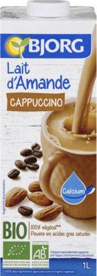 Lait d'amande Cappuccino - Produit