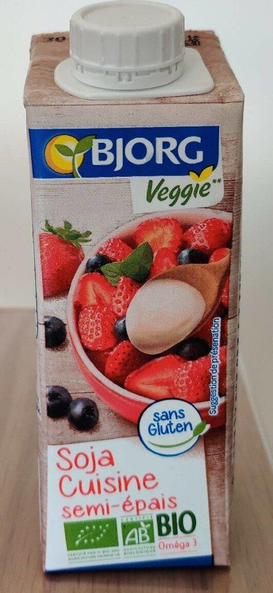 Soja cuisine semi épais veggie - Product - fr