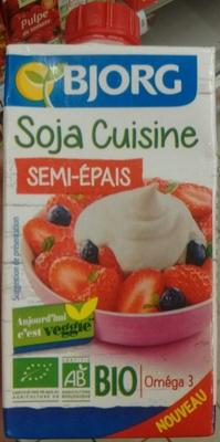 Soja cuisine semi pais bjorg 250 ml for Soja cuisine bjorg