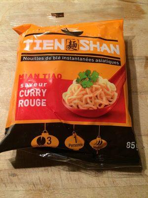 Nouilles instantanées asiatiques Mian Tiao au curry rouge - Produit