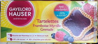 Tartelettes Framboise Myrtille Grenade - Product - fr