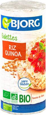 Galettes Riz Quinoa - Prodotto