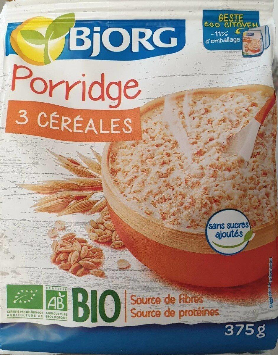 Porridge 3 céréales - Product - fr