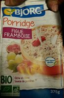 Porridge figue framboise - Product