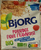 Porridge figue framboise - Produit