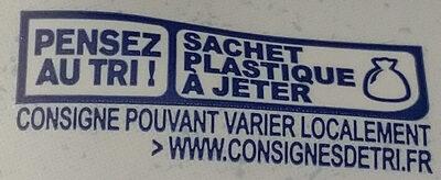 Porridge figue framboise - Instruction de recyclage et/ou informations d'emballage - fr