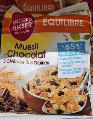 Muesli Chocolat 3 Céréales & 3 Graines - Produit - fr