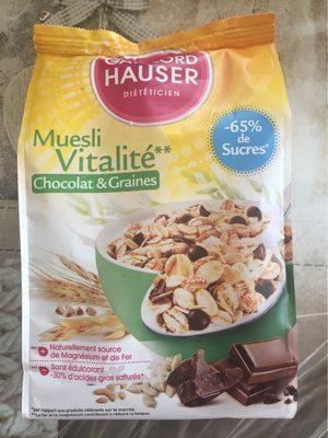 Muesli chocolat 3 céréales & 3 graines - Produit