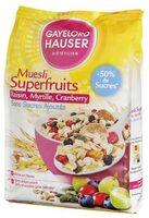 Muesli Superfruits - Produit - fr