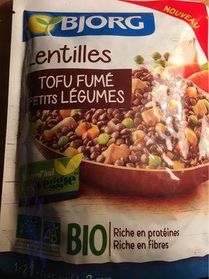 Lentilles Tofu Fumé Petits Légumes - Produit