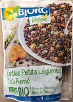 Lentilles Petits Légumes Tofu Fumé - Produit - fr