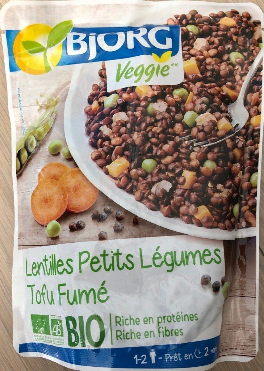 Lentilles Petits Légumes Tofu Fumé - Product - fr