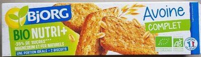 Bjorg avoine complet bio nutri+ - 产品 - fr