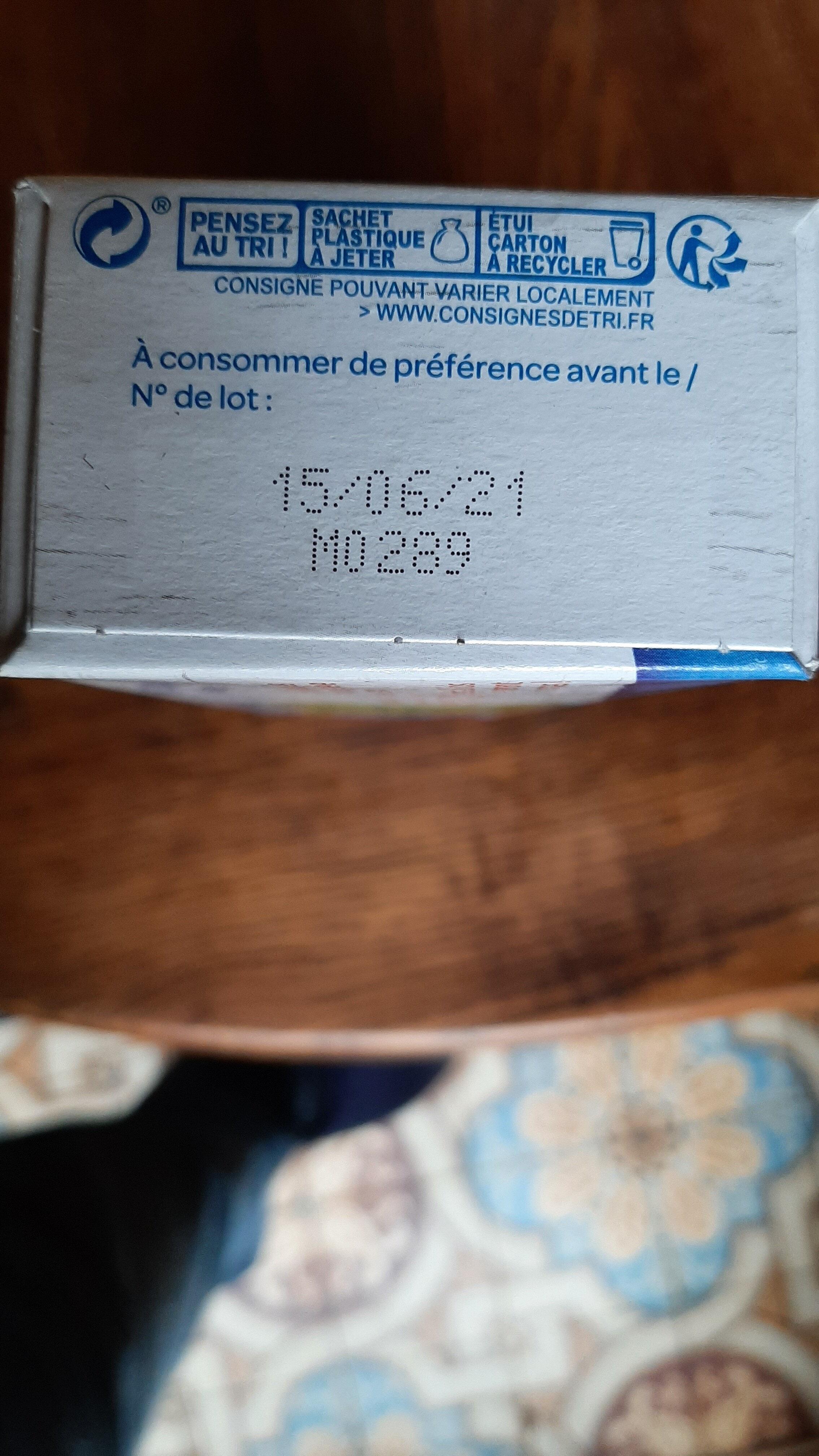 Avoine complet - Instruction de recyclage et/ou informations d'emballage - fr