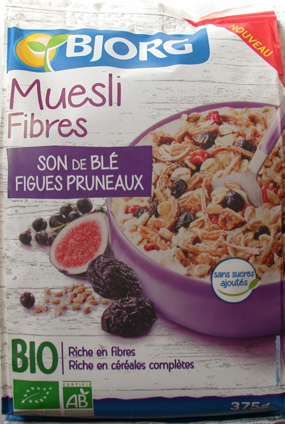 Muesli Fibres SON de BLE FIGUES PRUNEAUX - Product - fr