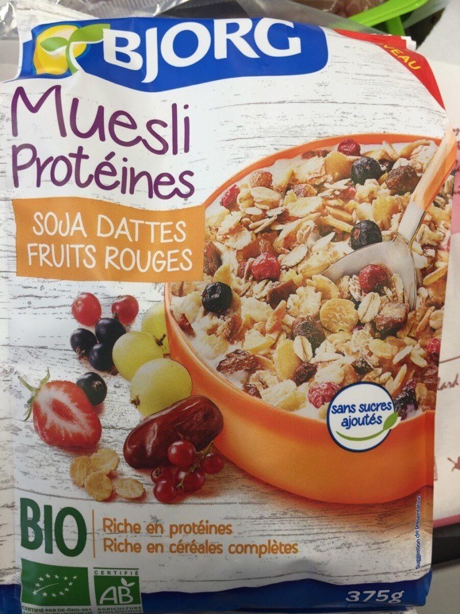 Muesli Protéinés Soja Dattes - Prodotto - fr