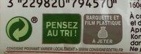 Tagliatelle de Konjac - Instruction de recyclage et/ou information d'emballage - fr