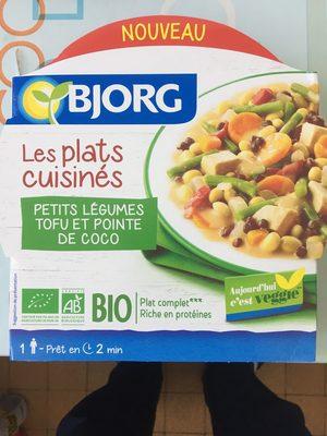 Petits légumes tofu et pointe de coco - Produkt - fr