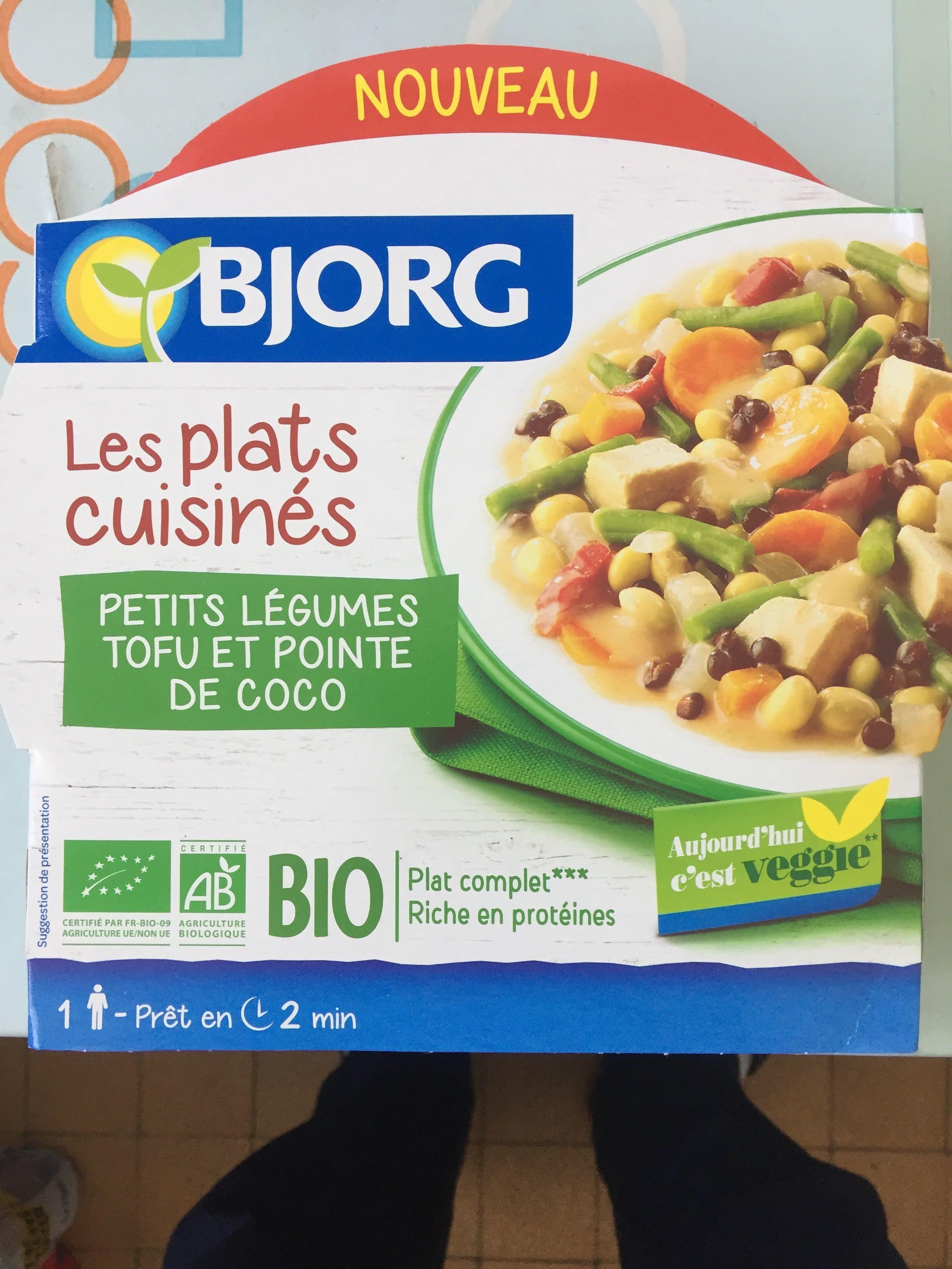 Petits légumes tofu et pointe de coco - Produit