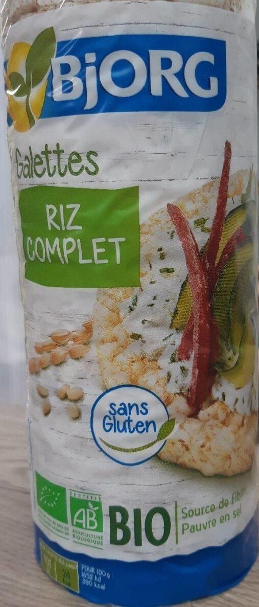 Galette riz complet 19 galettes environ - Produit - fr
