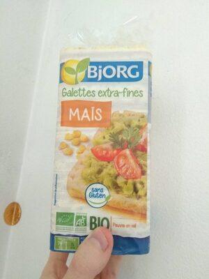 Galettes extra-fines maïs - Produit - fr