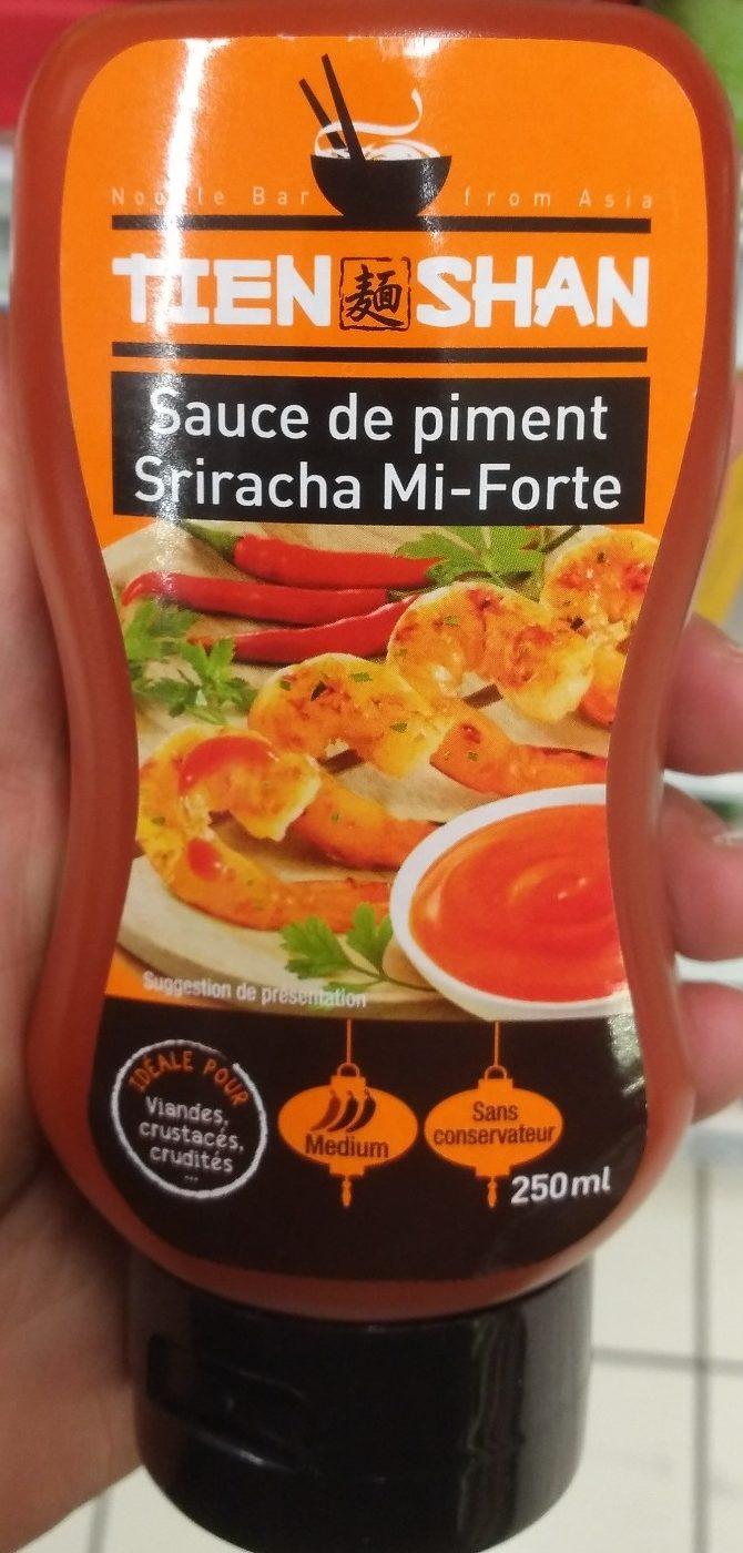 Sauce de piment sriracha mi-forte - Produit - fr