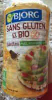 Galettes maïs, amarante, lin bio et sans gluten - Produit - fr