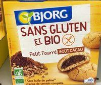 Sans gluten et bio petit fourré goût cacao - Produit - fr