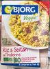 Riz & Seitan à l'Indienne bio - Product