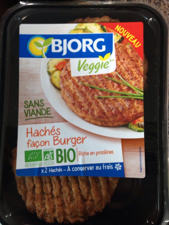 Hachés façon burger - Produit