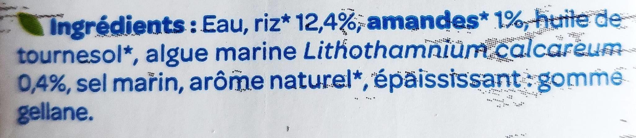 Riz amande - Ingredientes - fr