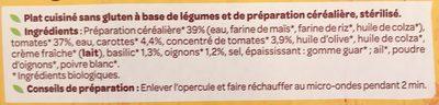 Fusilli sauce provençale - Ingrédients